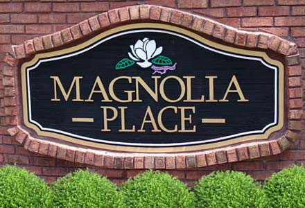 Magnolia Place Entrance